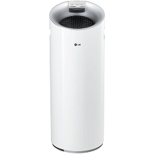 LG PuriCare Tower 3-Stage Filter Air Purifier with Smart Air Quality Sensor and LoDecibel Operation - AS401WWA1
