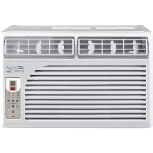 Arctic Wind Energy Star 6,000 BTU 115V Window Air Conditioner with Remote Control - AW6005E