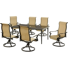 Hanover Brigantine 7-Piece Dining Set with a 40