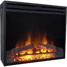 Cambridge 25-In. Freestanding 5116 BTU Electric Fireplace Insert with Remote Control, CAM25INS-1BLK