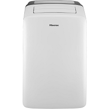 Hisense 12,000 BTU Portable Air Conditioner with Temperature Sensing Remote Control - CAP-12CR1SEJS