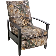 Hanover Cedar Ranch Recliner with Camo Cushions, CDRNCHREC-CMO
