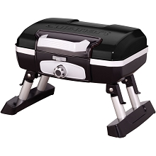 Cuisinart Petit Gourmet Portable Tabletop Outdoor LP Gas Grill in Black - CGG-180TB