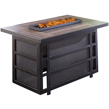 Hanover Chateau 30,000 BTU Gas Fire Pit Coffee Table - CHATEAUFP-REC