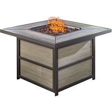 Hanover Chateau 40,000 BTU Gas Fire Pit Coffee Table - CHATEAUFP-SQ