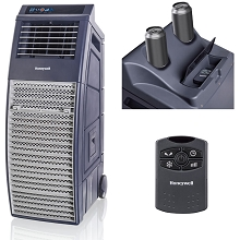 Honeywell 830-1000 CFM Outdoor Portable Evaporative Cooler with Remote Control - CO301PC