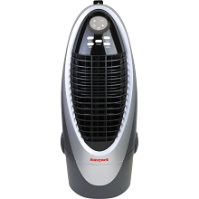 Honeywell 300 CFM Indoor Evaporative Air Cooler in Silver/Gray - CS10XE