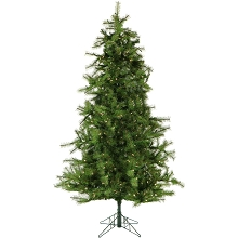 Christmas Time 6.5-Ft. Colorado Pine Artificial Christmas Tree with Clear Smart String Lighting - CT-CP065-SL