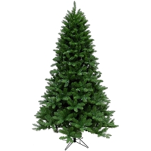 Fraser Hill Farm 7.5-Ft. Greenland Pine Artificial Christmas Tree with Multi-Color LED String Lighting and Holiday Soundtrack - CT-GT075-ML