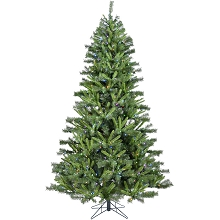 Christmas Time 7.5-Ft. Norway Pine Artificial Christmas Tree with Multi-Color LED String Lighting and Holiday Soundtrack - CT-NP075-ML