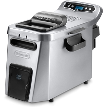 DeLonghi Digital Dual-Zone Deep Fryer in Stainless Steel - D34528DZ