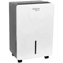 SoleusAir 45-Pint Portable Dehumidifier in White/Gray, DS1-45E-101B