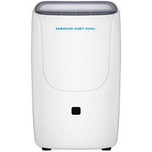 Emerson Quiet Kool High Efficiency 50-Pint SMART Dehumidifier with Built-In Vertical Pump, plus Wi-Fi and Voice Control, EAD50SEP1T