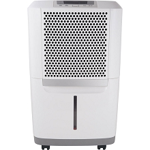 Frigidaire High Efficiency 50-Pint Portable Dehumidifier with SpaceWise Design for Effective and Efficient Moisture Control, FAD504DWD