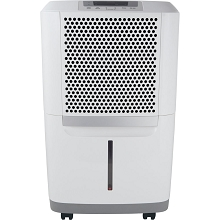Frigidaire High Efficiency 70 Pints-Per-Day Portable Dehumidifier with SpaceWise Design for Effective and Efficient Moisture Control, FAD704NWD