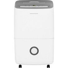 Frigidaire 30-Pint Dehumidifier with Effortless Humidity Control, White, FFAD3033R1