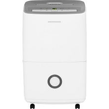 Frigidaire 70-Pint Dehumidifier with Effortless Humidity Control, White - FFAD7033R1