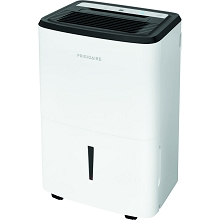 Frigidaire Energy Star 50-Pint Dehumidifier with Built-in Pump in White, FFAP5033W1