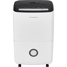 Frigidaire 70-Pint Dehumidifier with Built-in Pump in White - FFAP7033T1