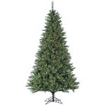 6.5 Ft. Canyon Pine Christmas Tree with Clear LED Lighting - FFCM065-5GR