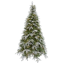 Fraser Hill Farm 7.5 Ft. Hunter Fir Artificial Christmas Tree with LED String Lighting - FFHF075-5SN