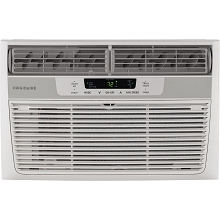 Frigidaire 6,000 BTU 115V Window-Mounted Mini-Compact Air Conditioner with Digital Controls and Remote Control in White -  FFRA06L2S1
