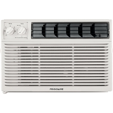 Frigidaire 8,000 BTU 115V Window-Mounted Mini-Compact Air Conditioner with Mechanical Controls, White, FFRA081ZAE