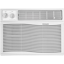 Frigidaire 12,000 BTU 115V Window-Mounted Compact Air Conditioner with Mechanical Controls, White - FFRA1211U1