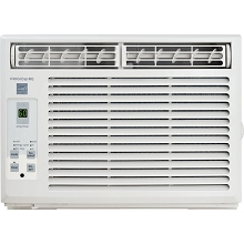 Frigidaire 5,000 BTU 115V Window-Mounted Mini-Compact Air Conditioner with Full-Function Remote Control, White, FFRE0533S1