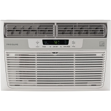 Frigidaire 6,000 BTU 115V Window-Mounted Mini-Compact Air Conditioner with Full-Function Remote Control, White - FFRE0633S1