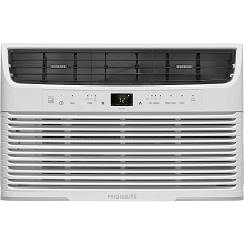 Frigidaire 6,000 BTU 115V Window-Mounted Mini-Compact Air Conditioner with Full-Function Remote Control, White - FFRE0633U1