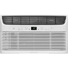 Frigidaire 8,000 BTU 115V Window-Mounted Mini-Compact Air Conditioner with Temperature-Sensing Remote Control, White - FFRE0833U1