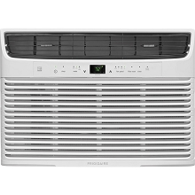 Frigidaire 10,000 BTU 115V Window-Mounted Compact Air Conditioner with Temperature Sensing Remote Control, White - FFRE1033U1