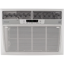 Frigidaire 18,000 BTU 230V Window-Mounted Median Air Conditioner with Temperature Sensing Remote Control - FFRE18L3SR/1