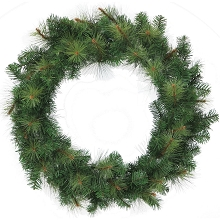 Fraser Hill Farm 36-In. Southern Peace Artificial Holiday Wreath - FFSP036W-0GR