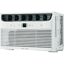 Frigidaire Energy Star 8,000 BTU 115V Cool Connect Smart Window Air Conditioner with Wi-Fi Control, White, FHWW083WBE