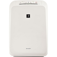 Sharp Plasmacluster Ion Air Purifier with True HEPA Filtration (210 sq. ft.) - FP-F50UW