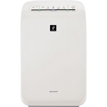 Sharp Plasmacluster Ion Air Purifier with True HEPA Filtration (280 sq. ft.) - FP-F60UW