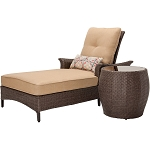 Gramercy 2PC Chaise Lounge Set in Country Cork - GRAMERCY2PC