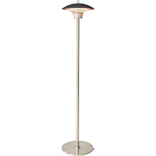 Hanover Electric Halogen Infrared Stand Heat Lamp, Brown, HAN1024HA-BRN