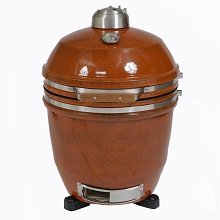 19 In. Ceramic Kamado Grill in Rust - HAN191KMD-RT