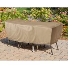 Hanover Protective Vinyl Cover for Hanover Outdoor Bistro Sets - HAN-COVER-1