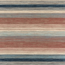 Hanover 79-Inch Square Indoor/Outdoor Backless Rug with 5000 Hours of UV Protection - Multi-Color Stripe, HANRG79SQSTP-MLT