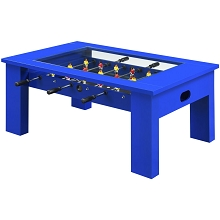 Hanover Foosball Coffee Table in Blue, HGFB02-BLU