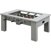 Hanover Foosball Coffee Table in Gray, HGFB02-GRY