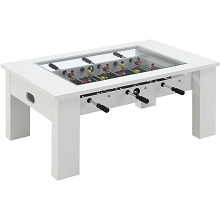 Hanover Foosball Coffee Table in White, HGFB02-WHT