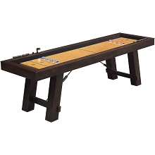 Hanover Shuffleboard Table, HGSB01-BRN