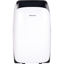 Portable Air Conditioner with Dehumidifier & Fan for Rooms Up To 450 Sq. Ft. with Remote Control (Black/White) - HL10CESWK
