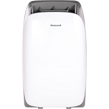Portable Air Conditioner with Dehumidifier & Fan for Rooms Up To 550 Sq. Ft. with Remote Control (White/Gray) - HL12CESWG