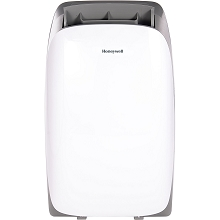 Portable Air Conditioner with Dehumidifier & Fan for Rooms Up To 700 Sq. Ft. with Remote Control (Gray/White) - HL14CESWG